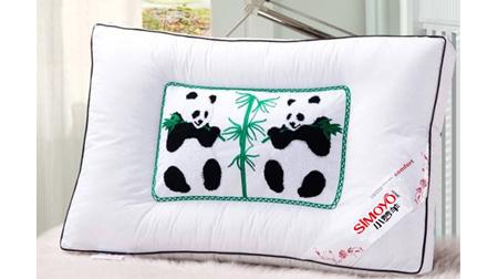 熊猫竹碳养生枕