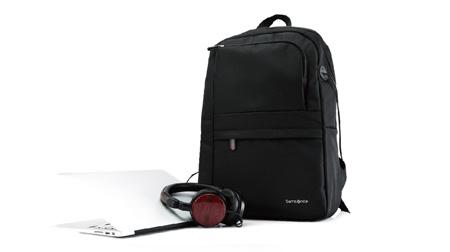 新秀丽电脑双肩包 黑色