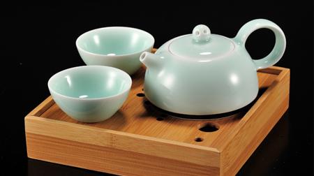 春壶茶盘系列一壶二杯+茶盘