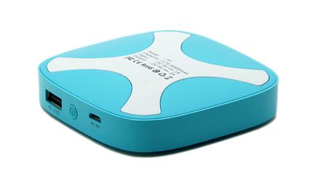 创意方形化妆盒移动电源