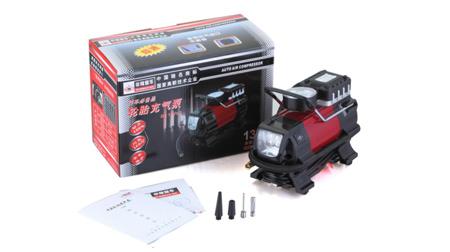 非常爱车 1381车载充气泵电动12V便携式汽车轮胎打气筒高压打气泵