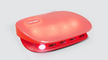 触控发光的月光宝盒USB充电器