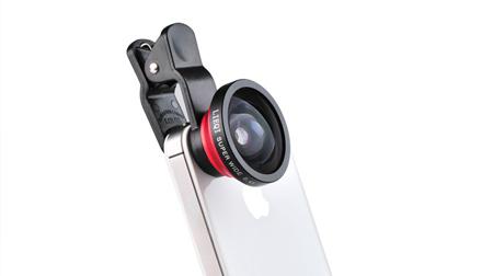 通用型夹子0.4X超广角镜头 iphone 三星 手机镜头