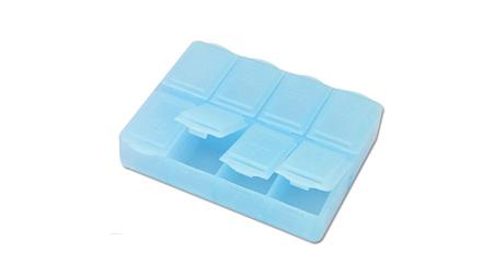 8格长方形药盒