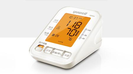 央视广告明星款 鱼跃电子血压计YE690A