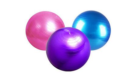 美国居康 加厚防爆瑜伽球 家用小型健身器材美体运动球