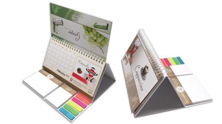 线圈台历便利贴、日历、便签纸