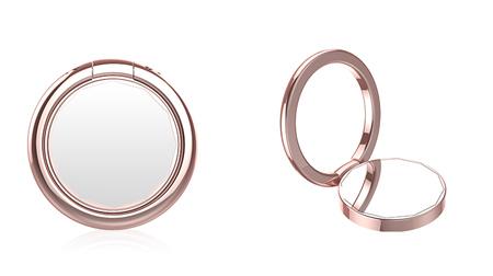 十二角镜子指环支架、手机支架
