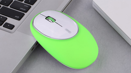 PM8 无线鼠标减压健康创意硅胶鼠标