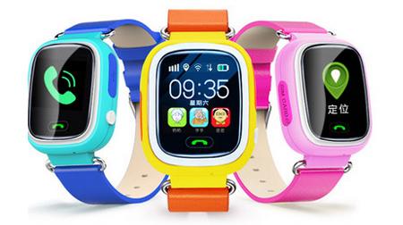 M03 1.22寸触摸彩屏多重定位儿童手表
