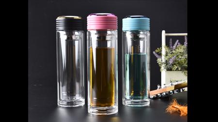 玫瑰之约玻璃杯、玻璃茶杯(彩盒展示图)
