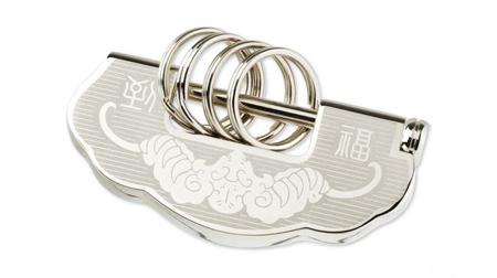 中国元素钥匙扣