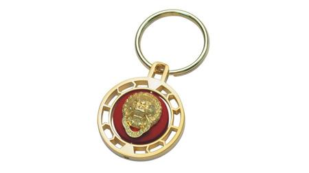 狮子头钥匙扣