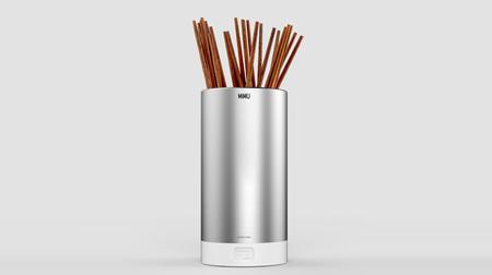 MiMU抑菌欧式筷筒创意不锈钢防霉杀菌厨房筷子筒