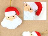 环保毡制圣诞饰品