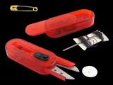 带针线盒透明剪刀