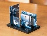 立体城市雕塑像框