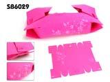 绣花毛毡折叠纸巾盒